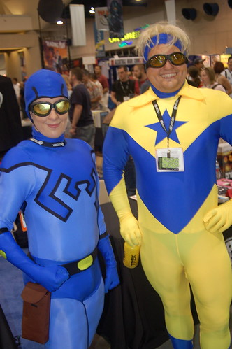 Comic Con 2006: Blue and Gold