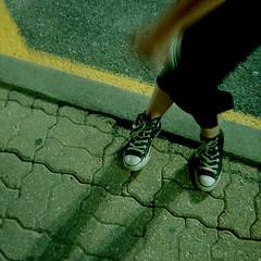 (devan.louise) Tags: wow parkinglot shoes legs heather chucks ihatetaggingwow