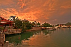 SunsetHDR (antiguan) Tags: chris sunset sea sky cloud house storm home water clouds canon reflections eos 350d harbor boat dock eli cloudy harbour hurricane sunsets antigua boating tropical caribbean redsky storms digitalrebel hdr cloudporn tropicalstorm antiguan elifuller hdrsunset hdrsky tropicalstormchris hurricanechris