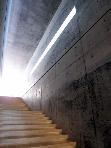 Tadao Ando in action
