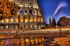 Aurorus Reflectus Colosseo (Stuck in Customs) Tags: world travel light italy rome roma reflection art history monument wet water beautiful rain night puddle photography photo ancient nikon ruins colorful pretty italia dynamic roman gorgeous d2x amphitheatre ruin dream fresh colosseum divine professional adventure international photograph aurora stunning flare flavio classical top100 portfolio charming foreign fabulous technique hdr tutorial trey gladiator colosseo anfiteatro artisitic engaging flavian travelphotography portfolios ratcliff flavium nikonstunninggallery amphitheatrum d2xs hdrtutorial stuckincustoms imagekind treyratcliff focuspocus stuckincustomsgooglescreensaver portfoliodotcom portfoliosdotcom