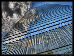WTC7 (JeffrySG) Tags: nyc newyorkcity newyork manhattan olympus hdr hdri wtc7 7worldtradecenter sp350 worldtradecenter7