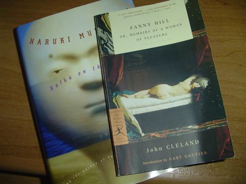 Books: Kafka on the Shore, Fanny Hill