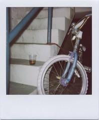 Cigarettes In Chocolate Milk I (honeycut07) Tags: bicycle polaroid hotel rufus anacortes milkman
