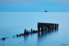 Like 300 Years Ago (Dietrich Bojko Photographie) Tags: seascape tag3 taggedout 35mm d50 germany deutschland evening bravo tag2 tag1 searchthebest webinteger quality nikond50 bluehour schleswigholstein circularpolarizer payitforward kellenhusen cokinp121 nikkor1855mm cokinp164 gnd8 abigfave world100f