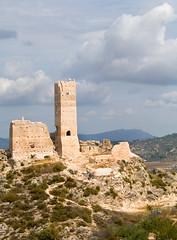 Castle ruins Spain (Not forgotten) Tags: españa castle tourism stone landscape spain borg ruin alicante alcoy spania slott comunitatvalencia