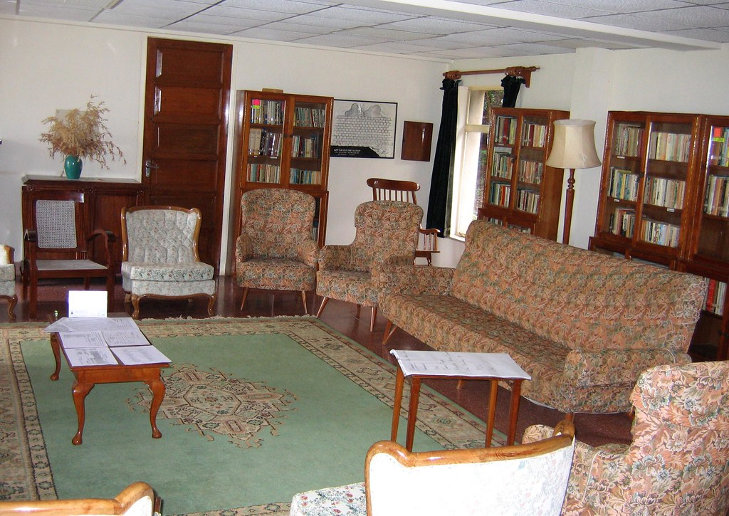 Drawing Room-cum-Library