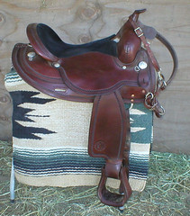 Circle Y Saddle 4 Sale (Pigs Fly Ranch) Tags: horse cowboy western saddle