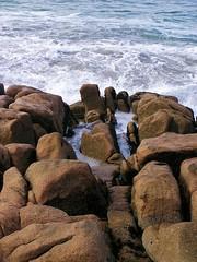 Neptune's Sleep (Gwynedd) Tags: ocean blue ireland tag3 taggedout rocks tag2 tag1 stones atlantic fantasy mythology codonegal doohey