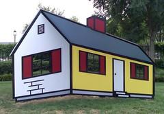 lichtenstein 'house 1' (sara~) Tags: usa washingtondc contemporaryart modernart sculpturegarden house1 lichtenstein nationalgalleryofart