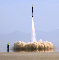 P2700 rocket motor launch