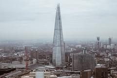 The Shard, London (przemyslawkrzyszczuk) Tags: shard london tower city blue sky building architecture arch street life wieza wiezowiec niebo miasto england anglia uk britain scrapper skyscrapper skyline widok view