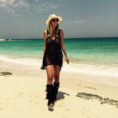 Ibo Maraca LovebyN (LovebyN) Tags: summer black love beach fashion cub dress tiger egypt gladiators northcoast panamahat lookbook beachwear bershka ootd handopainted fashionblogger lookbooker lovebyn ibomaraca