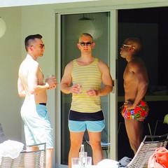 IMG_9985 (danimaniacs) Tags: friends shirtless man hot sexy guy muscle muscular bald hunk stud