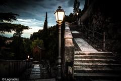 Ultima locura (Davide Legnani) Tags: italy scale canon dark italia chiesa luci vicenza 6d luoghi veneto malinconico allaperto cammino spettrale angosciante isolavicentina spettrali legnadax
