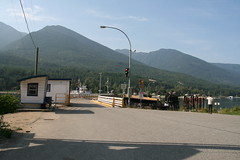 Balfour ferry terminal (Vernon Harvey) Tags: lake ferry bc columbia british kootenay balfour