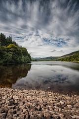Dol-y-gaer Reservoir 4 (richwself) Tags: summer water clouds landscape canonefs1022mmf3545usm canoneos40d dolygaerreservoir