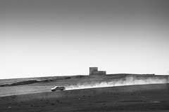 Road trip 3 (Chakib.T) Tags: road travel bw white black monochrome car algeria nikon noir horizon hill roadtrip blanc