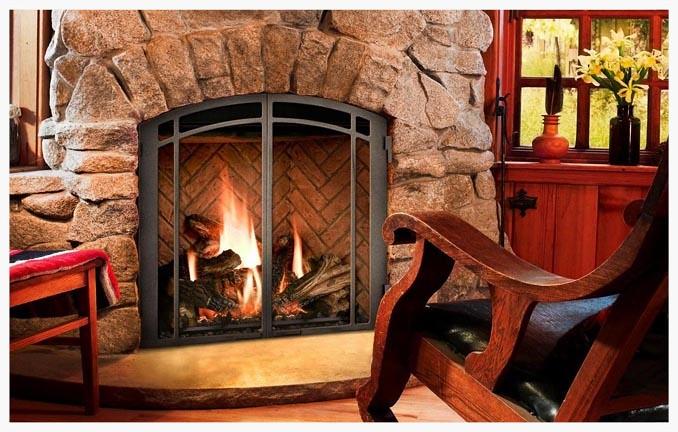 Mendota Full View 46 direct vent fireplace
