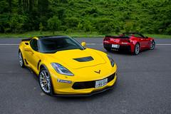 Chevrolet Corvette Z06 and Z06 Convertible (Mariosdog) Tags: japan photography tokyo nikon photographer automotive nikkor yoshi f28 freelance d600 2870mm dazai