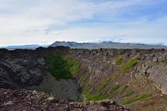 VESTURLAND - Eldborg crater (Andrea Zille) Tags: iceland islanda republicoficeland lýðveldiðísland islandazilleandrea