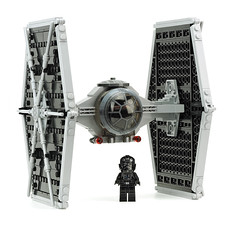 TIE Fighter (de-marco) Tags: starwars fighter lego tie latvia pilot moc latvija latlug