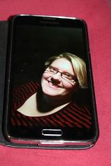 Selfie on mobile (hildur_76) Tags: selfie fotosondag fs151004