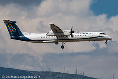 LGAV I  28.09.2015 I De Havilland Canada Dash 8 Q400 I SX-OBE (onemoregeorge.frames) Tags: nikon september greece olympic omg ath 2015 lgav d40x sxobe onemoregeorge