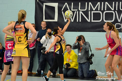 Corrie vs Emmerdale Netball (jonnywalker) Tags: charity sport manchester team event match corrie 2014 emmerdale manchesterthunder yorkshirejets manchesterthundernetball manchesterthunderdome