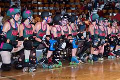 rebels_vs_panic_L3506356 1 (nocklebeast) Tags: ca usa santacruz rollerderby rollergirls zombies vampires skates organicpanic santacruzderbygirls redwoodrebels