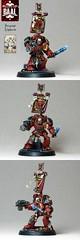 Sergeant Alphaeus views (Duca Strige) Tags: infantry angel blood 40k warhammer terminator squad alphaeus deathstorm