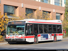 Toronto Transit Commission #8418 (vb5215's Transportation Gallery) Tags: toronto bus nova ttc transit commission lfs 2015