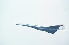 TU-144 fly-by (Svein K. Bertheussen) Tags: fly aircraft airshows supersonic lebourget parisairshow tu144 concordski luftfart luftfarty