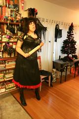 365 Day 275 Outtake #2 (bohemea) Tags: selfportrait halloween self costume baker gothic pale musical horror corset 365 brunette bangs outtake sweeneytodd day275 photochallenge 2015 helenabonhamcarter mrslovett boabeille