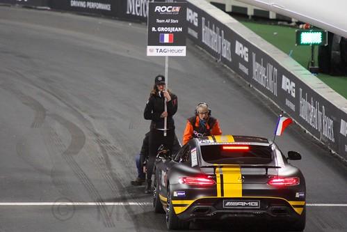 Romain Grosjean in The Race of Champions, Olympic Stadium, London, November 2015