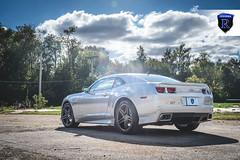 Chevrolet Camaro - RC8 Matte Black (3) (Rohana Wheels) Tags: chevrolet wheels camaro chevy rims concave rohana americanmuscle rc8 chevyracing concavewheels rcseries rohanawheels