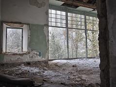 derelict picture windows (vitamink8) Tags: winter mist snow history abandoned fog azerbaijan caucasus nagornokarabakh armenia derelict shushi shusha