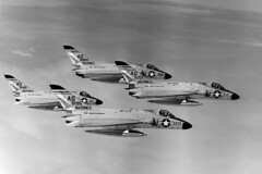 VMF(AW)-115 F4D-1 Skyrays (skyhawkpc) Tags: usmc airplane inflight aircraft aviation navy marines douglas naval usnavy usn 1962 usmarines ussindependence cva62 139084 139065 139207 f4d1 ag104 ag105 ag112 vmfaw115 139196 ag110