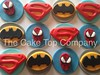 12 Super Hero Cupcake Toppers by The Cake Top Company (thecaketopcompany) Tags: birthday uk cake spiderman superman superhero batman caketopper edible pary toppers fondant esty superherocake superherocupcaketoppers thecaketopcompany