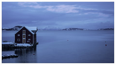 The Hour of Blue.jpg (Willie Jarl Nilsen) Tags: seascape advent harstad landskap blåtime ervika