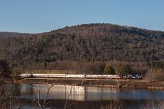 Seward Lake (sullivan1985) Tags: ny newyork heritage train ns special amtrak veterans toysfortots norfolksouthern emd amtk honoringourveterans capitolregion chaseville sd60e ns027 ns6920 ns02705
