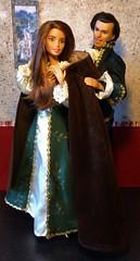 """Here, let Me Help You..."" (MaxxieJames) Tags: vittoria belmonte princess pea fairy tale fairytale mattress story stories movie barbie mattel teresa made move prince ken dolls doll poster"