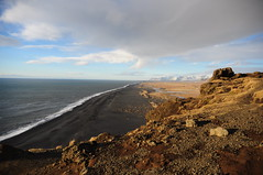 Black Sand Beach (Bastian S. Photography) Tags: black sand beach iceland island schwarz strand schwarzer nikon d5000 nikkor 1870mm x15 x18 travel
