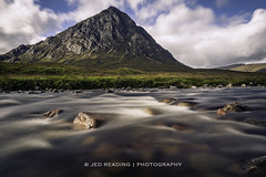 Buachaille Etive Mor and the River Coupall (Jed Reading) Tags: scotland buachailleetivemor stobdearg rivercoupall glencoe highlands mountains munro river water scottish