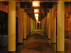 Honolulu, HI Royal Hawaiian Hotel - hallway (army.arch) Tags: honolulu hawaii hi waikiki night city photography royalhawaiian hotel hallway columns