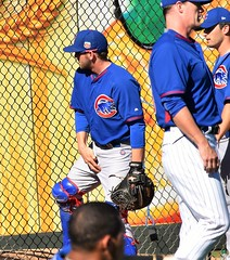 IanRice adjustment (jkstrapme 2) Tags: baseball catcher jock crotch adjustment cup