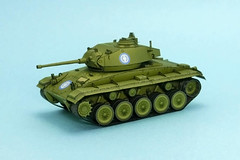 WWII M24 Chaffee Light Tank Free Paper Model Download (PapercraftSquare) Tags: 172 chaffee lighttank m24 m24chaffee tank wwii