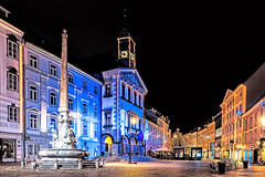 Merry Christmas Ljubljana (Paweł Szczepański) Tags: ljubljana slovenia si greatphotographers trolled sonyflickraward legacy shockofthenew sincity