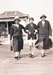 On the pier at Southport (Majorshots) Tags: oldphotographs familyphotographs oldfamilyphotographs oldmonochromephotographs southport southportpier