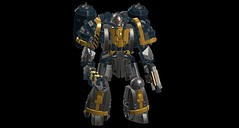 Iron Warrior (IAmDest) Tags: lego mecha warhammer 40k spacemarine ironwarriors ldd actionfigure